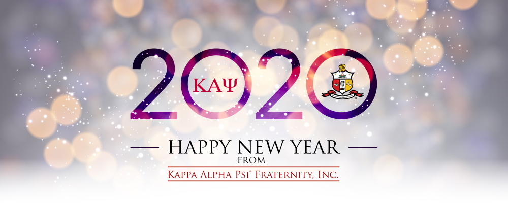 Banner for New Year 2020 from KappaAlphaPsi1911.com