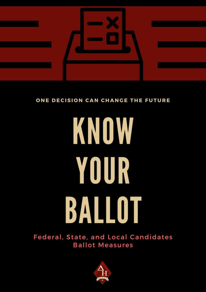 "Graphic ""Know Your Ballot"""